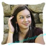 Photo Cushion Double Side Satin Large